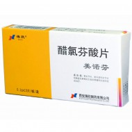 美诺芬 醋氯芬酸片  0.1g*10片