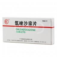 氯唑沙宗片(彼迪药业) 0.2g*24T