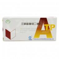 白云山  三磷酸腺苷二钠片(ATP)   20mg*12片