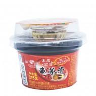 雪伯龙  木瓜红豆龟苓膏  215g(赠15g调味糖杯)