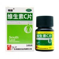 南国  维生素C片  0.1g*100s