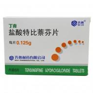 丁克 盐酸特比萘芬片  0.125g*6片/盒