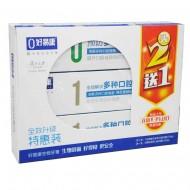 好易康 生物功效牙膏全效升级特惠装 江苏雪豹 国际薄荷120g*2+茶香薄荷120g