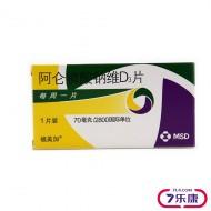 福美加 阿仑膦酸钠维D3片 70mg/2800IU*1T