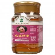詹氏养蜂场 玫瑰蜂蜜 500g