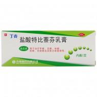 丁克 盐酸特比萘芬乳膏 齐鲁制药 20g:0.2g