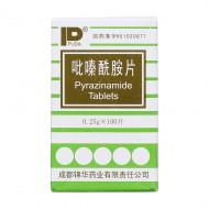 吡嗪酰胺片 成都锦华 0.25g*100片