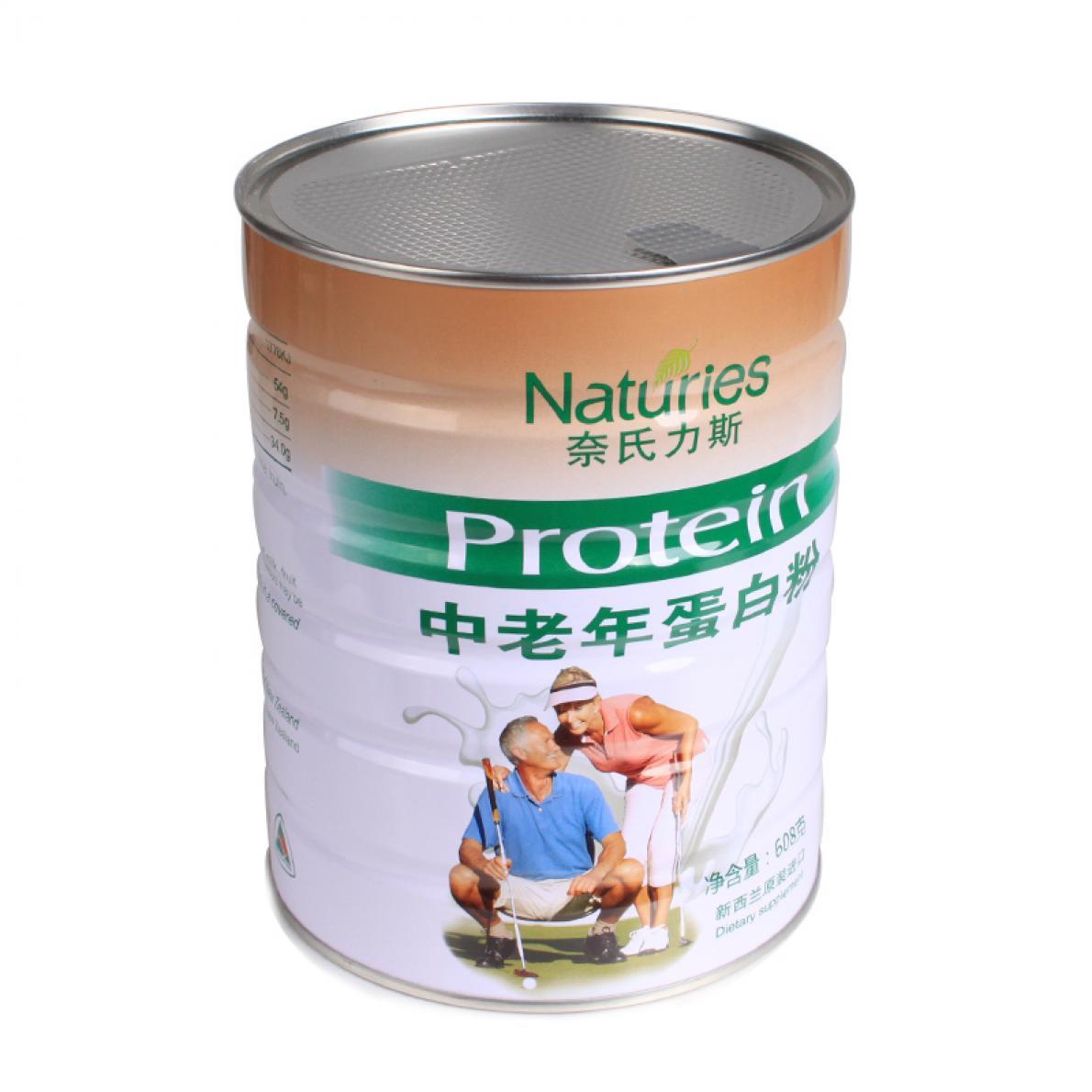 奈氏力斯 中老年蛋白粉 新西兰 608g/罐