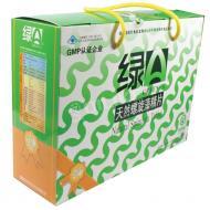 绿A 天然螺旋藻精片 礼盒装 0.5g*12片*25袋*2筒