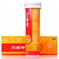 力度伸 维生素C泡腾片(橙味) 1g*10片*1支/盒
