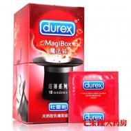 杜蕾斯 天然胶乳橡胶避孕套(魔法装超薄系列) 52mm 18只
