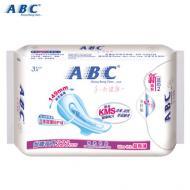 ABC甜睡夜用立体夜漏防护(含KMS健康配方) 323mm*3片