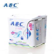 ABC 隐形超级薄棉柔护垫(含KMS健康配方) 22片