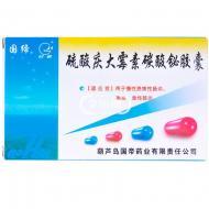 国帝 硫酸庆大霉素碳酸铋胶囊(葫芦岛国帝药业) 10s