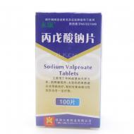 兴邦 丙戊酸钠片 0.1g*100片